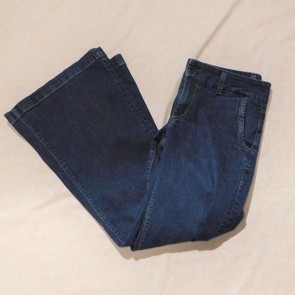 Fossil Denim - Fossil Wide Leg Flare Jeans